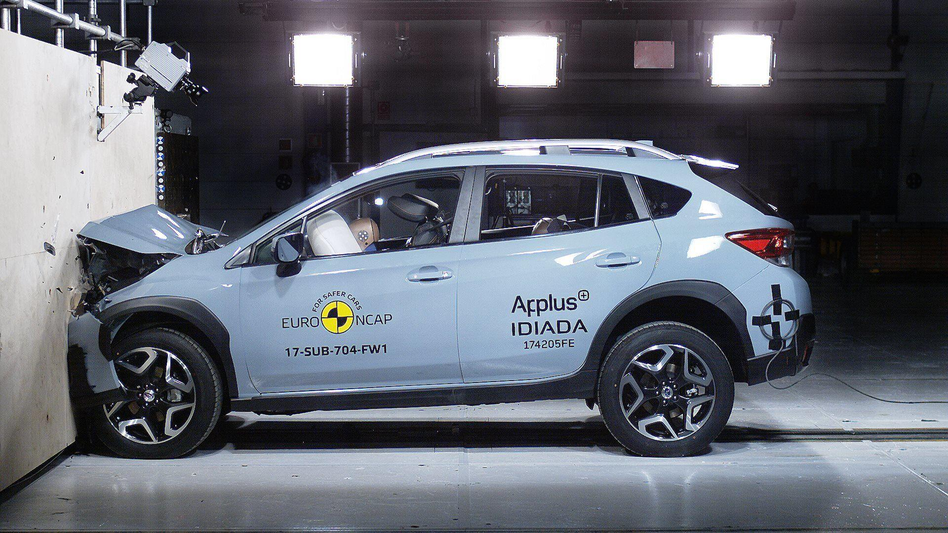 THE ALL-NEW SUBARU XV AND IMPREZA AWARDED MAXIMUM FIVE STAR RATING IN 2017 EURO NCAP SAFETY TEST